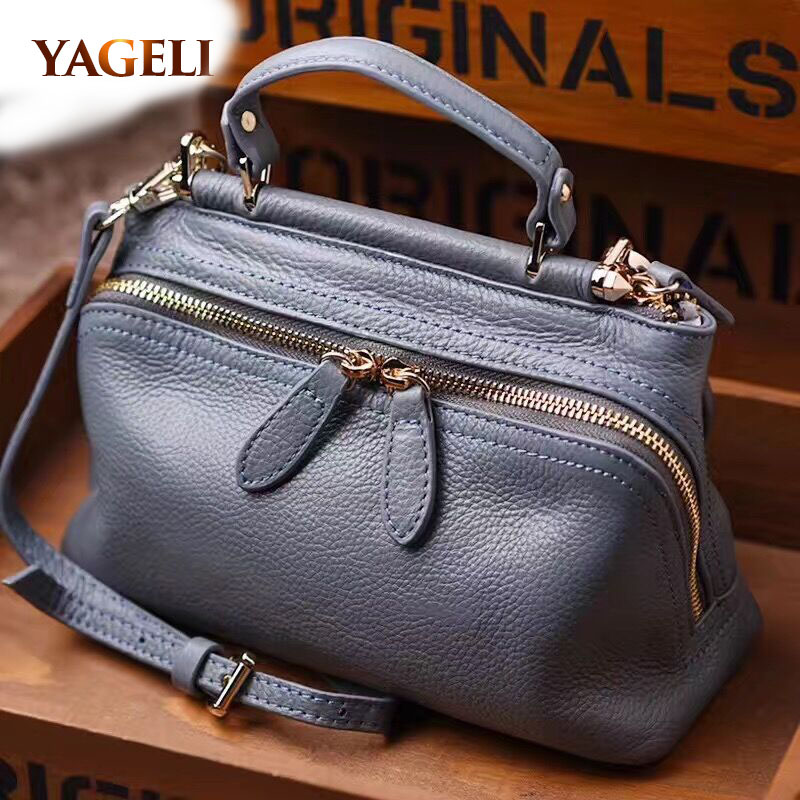 famous brands designer tote bag high quality ladies' hand bags genuine leather women's handbags luxury handbags women bags soar cowhide genuine leather bag designer handbags high quality women shoulder bags famous brands big size tote casual luxury