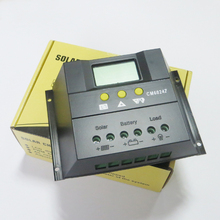 1pc x 60A 12V 24V CM6024Z PWM Solar kits battery Charge Regulators LCD Display