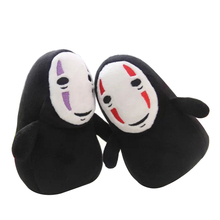Doll Plush-Pendant Kaonashi Stuffed Ghost Spirited No-Face Children Kids Gift for 1pc