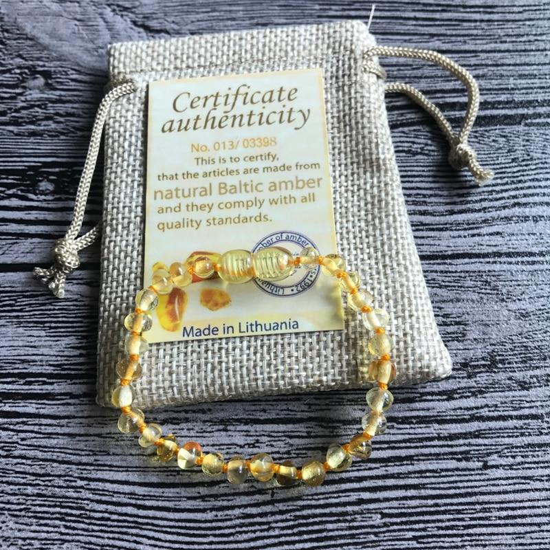 HTB1J 36mAfb uJjSsrbq6z6bVXaF Yoowei Natural Amber Bracelet/Anklet for Gift Women Amber Bracelet Baltic 4mm Small Beads Baby Teething Custom Jewelry Wholesale