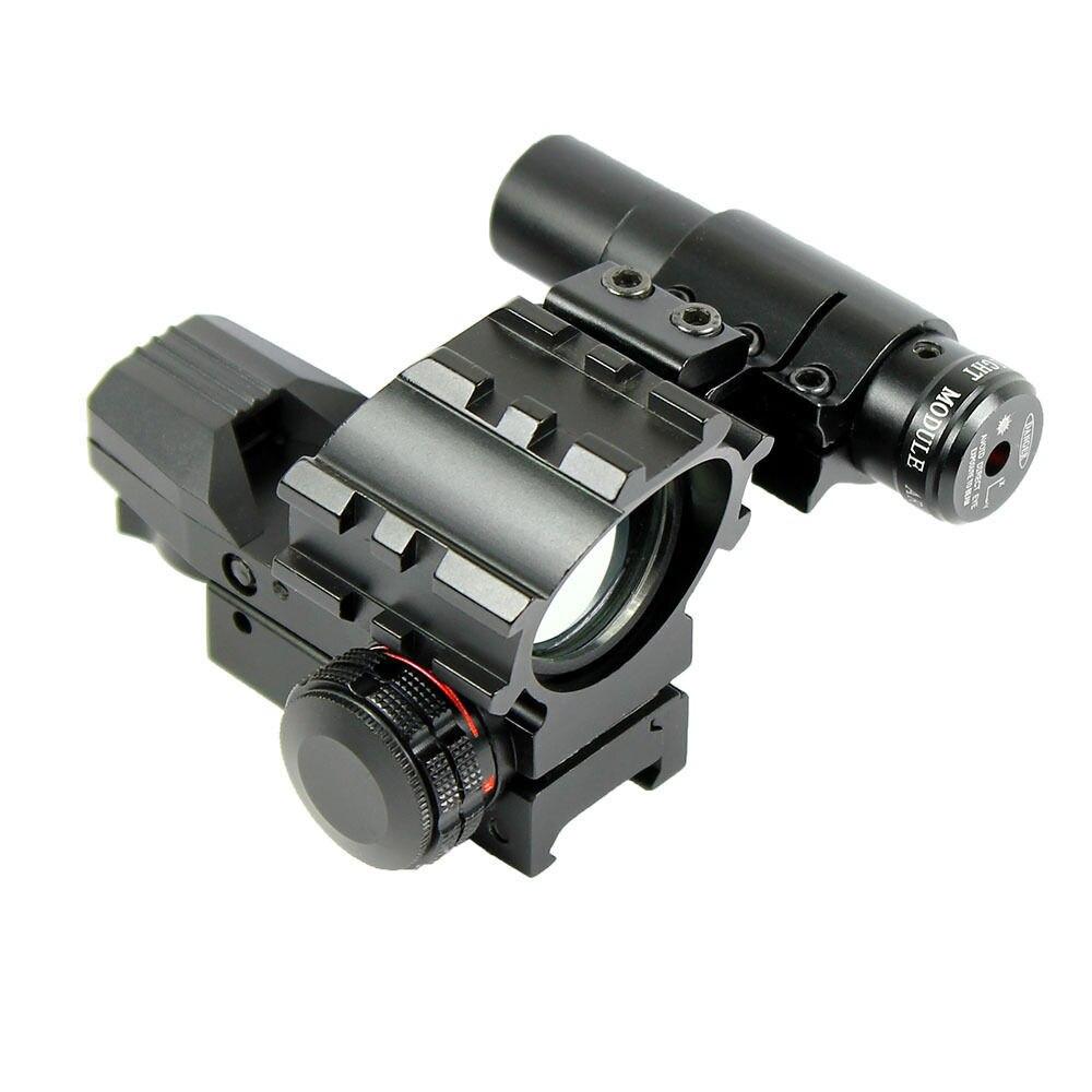 Sightscope Holographique Sight Chasse Airsoft Pistolets À Air de Tir Sniper Tactique Optique Réticule Reflex Portée Red Green Dot Laser