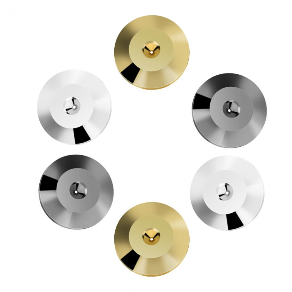 3 colors 8 Pcs/set 25 x 4mm Universal Copper Speaker Shock Base Pad Isolation Feet Mat Floor Disc