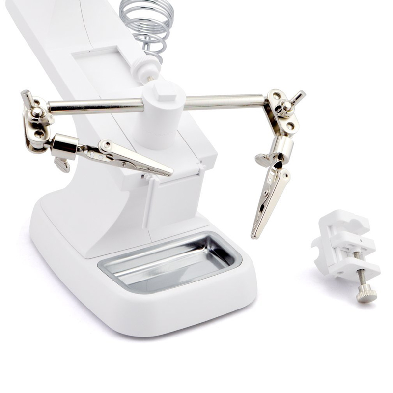 LED Clip Type Helping Hand Magnifier 04