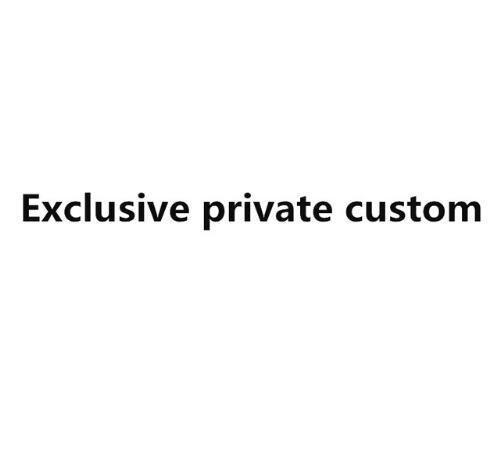 Esclusivo privato su ordinazione di modo di set di biancheria da letto
