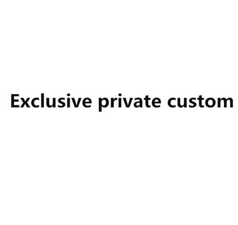 Exclusivo y privado de moda personalizado ropa de cama conjunto