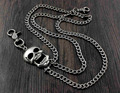 Skull Men's Biker Punk Trucker Pants Fob Keychain Long Jean Wallet Chain YL-88