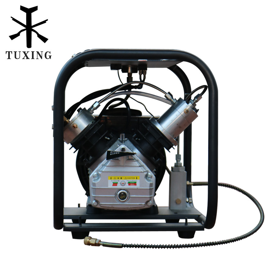 4500psi 300bar 110V 220V Double Cylinder PCP Electric air pump high pressure paintball air compressor for