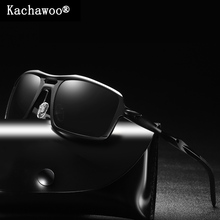 Aluminum Magnesium Sq. Solar Glasses for Male Blue Mirror Style Equipment 2019 Fishing Glasses Excessive High quality Outside