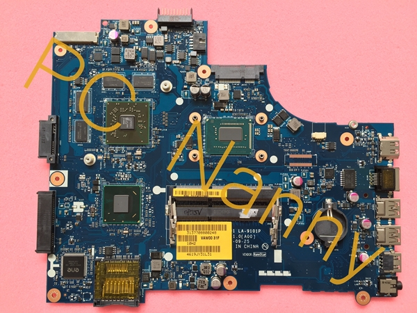0P55V VAW01 LA-9101P For Dell Inspiron 5521 15R Ins15RD-2728 motherboard i7 3537U Cpu with AMD Radeon HD 8730M 2GB graphics