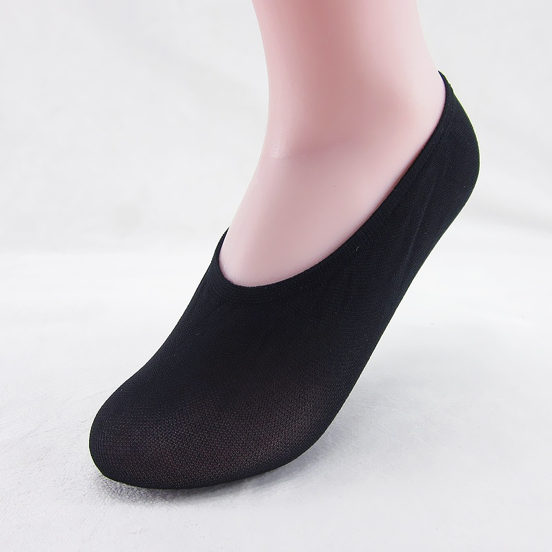 Sale 1Pair Women Girls Elastic Socks Free Size Comfortable Skid Solid Invisible Summer Socks in Sock Slippers from Underwear Sleepwears