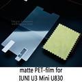 Глянцевая Lucent Ясно Матовый Матовый антибликовым покрытием Закаленное Стекло Защитная Пленка Экран Протектор Для IUNI U3 Мини U830