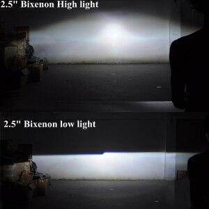 Image 5 - 2.5 lenti per fari LED Angel Eyes lente bi xeno Devil Eyes proiettore per proiettori H4 H7 H1 accessori per luci auto Tuning