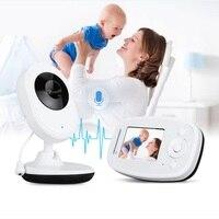 Babyfoon Camera baby call 2.4' baby monitor audio Zoom IR Night Light Vision Lullaby Temperature Sensor Baby Intercom nanny