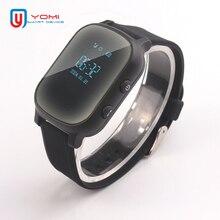 ساعة ذكية للأطفال كبار السن T58 Smartwatch سيم لتحديد المواقع وحدة تعقب ذكية جهاز مكتشف عن بعد للطفل الأكبر ساعة ذكية ل IOS أندرويد