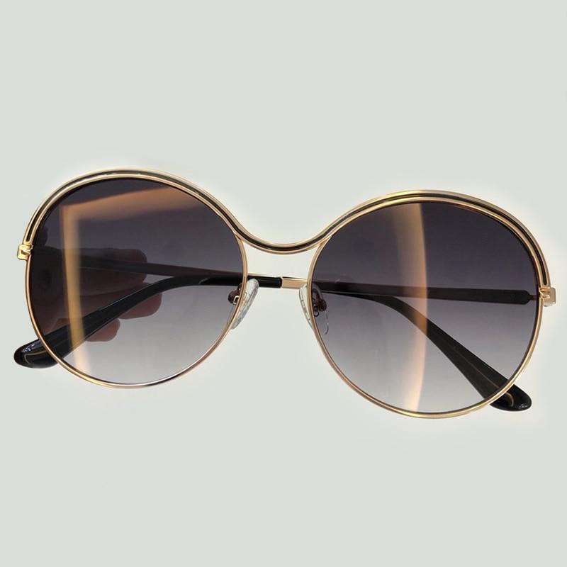 No no Round Female Sunglasses Oculos Fashion Designer Sun Brand Sunglasses Eyewear With Vintage 1 2 Glasses Box 3 Packing Sunglasses no Women Feminino De Sol Sunglasses no 4 5 no Sunglasses 66qTRdrw