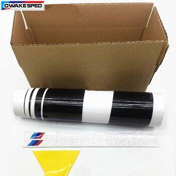 Saias Laterais Da Porta desempenho /// X2 KK Decalque Do Corpo Do Carro Adesivo De Fibra De Carbono M Esporte Estilo Para BMW 3 series GT F34 F30