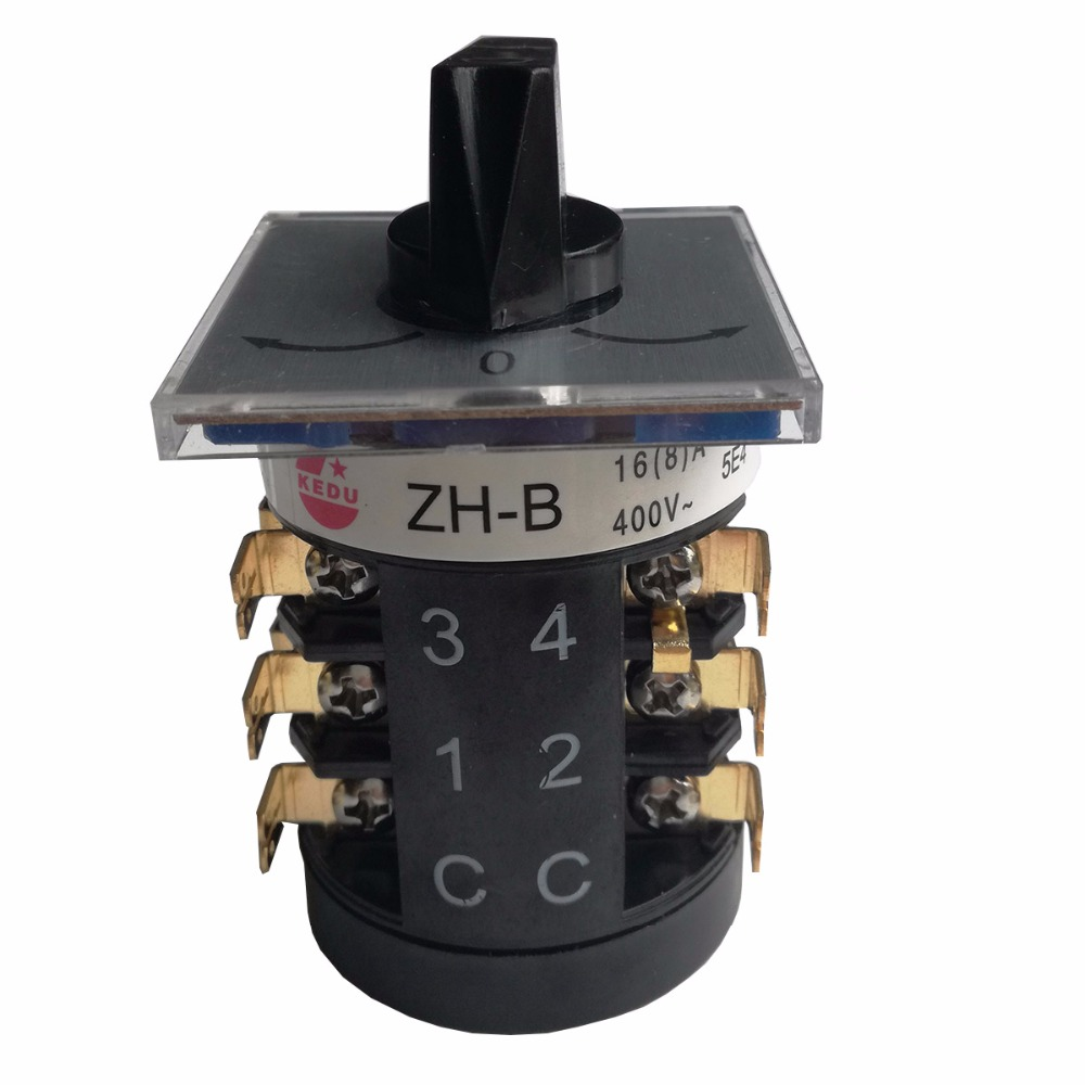 ZH B 250V 16 8 A ON OFF ON Universal Switches for Machine Reverse Direction