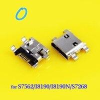30pcs Micro USB Jack connector Female charging port socket plug for samsung S7562 I8190 S7268 S7562 B9120 I8190n