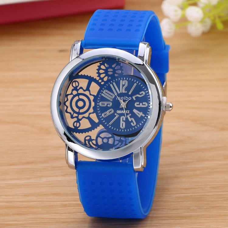 Fashion Jelly Silicone Women Watches Luxury Brand Casual Ladies Quartz Clock Wristwatches Clock Montre Femme Erkek Kol Saati