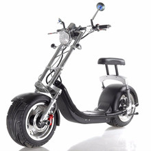 2-big Wheels 1200W Cool City Electric Motorbike/Motorcycle Harley from Shenzhen Factory