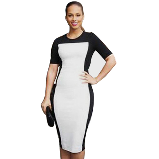 Ladies Celeb Evening Fitted Formal Party Ladies Pencil Bodycon Dresses D0076