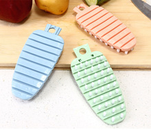 1PC Cooking Concepts Kitchen Cute Radish Shape Fruit And Vegetable Potato Brush Veggie Scrubber Cleaning Tools OK 0795 цена