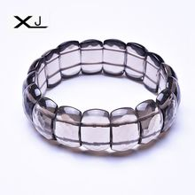 XJ Natural White crystals Stone Bracelet Jewelry Handmade Beads Mans Bracelets Creative Gifts