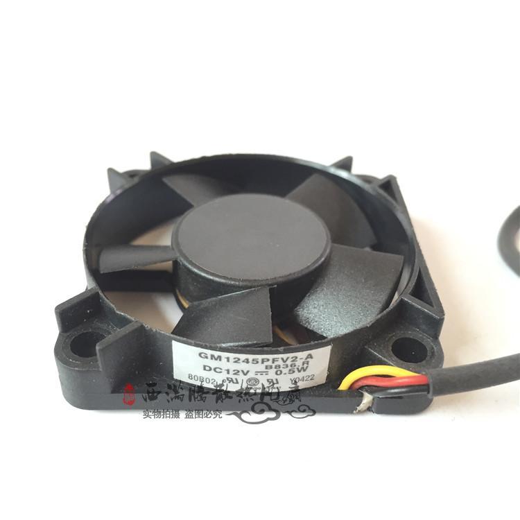 New Original GM1245PFV2-A R.B343.P 12V 0.5W 45 * 45 * 10mm Projector Fan