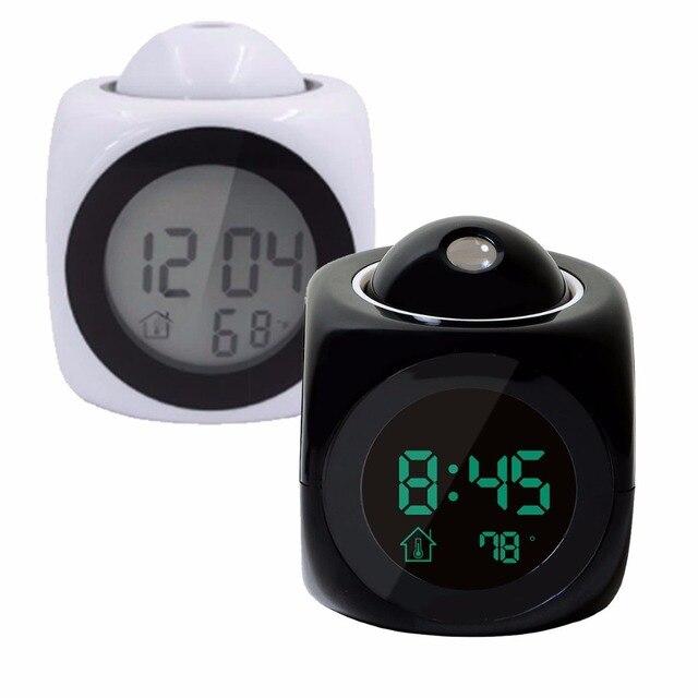 LED Display Time Digital Alarm Clock 1