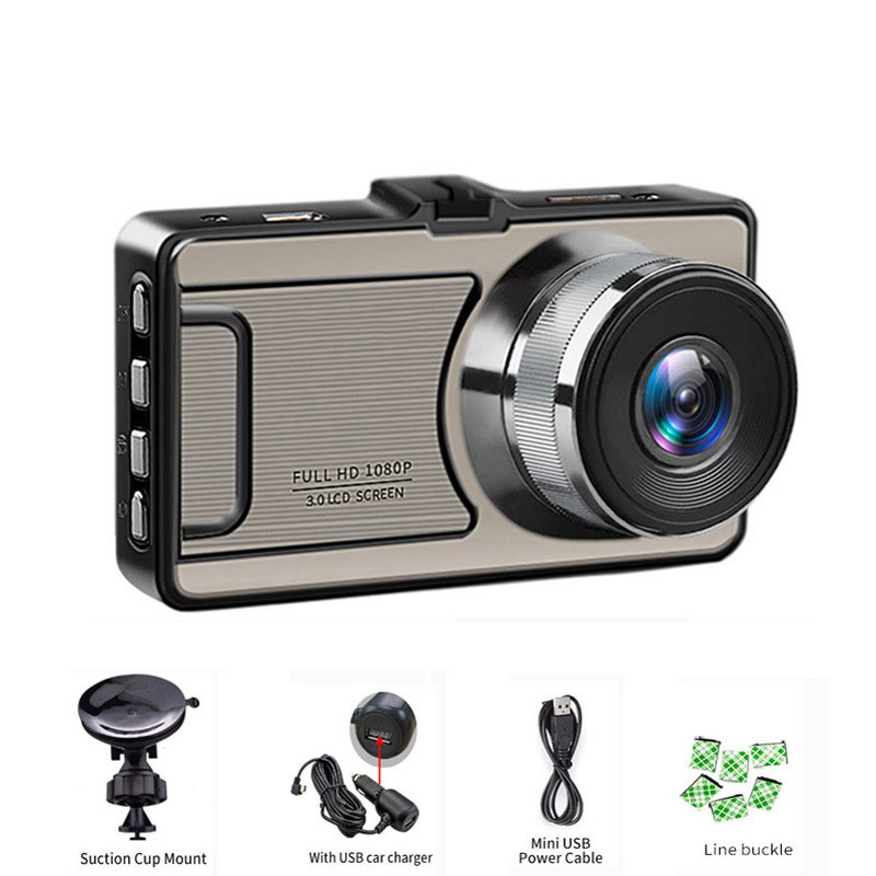 2018 Full HD 1080P Dash Camera Car DVR Car Vehicle Video Recorder Auto Camera 170 Degree Wide Angle Dash Cam Registrator DVR car dvr vehicle camera dash cam driving video recorder 1080p hd camera 170 degree wide angle lens 3 inches screen night vision