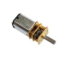 10 шт./лот N20 500 об/мин DC6V микро DC мотор редуктор мощный Электрический мини редуктор двигатели Mayitr