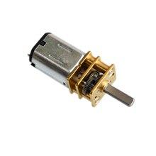 10 pçs/lote n20 500rpm dc6v micro dc engrenado motor elétrico poderoso mini redutor de engrenagem desaceleração motores mayitr