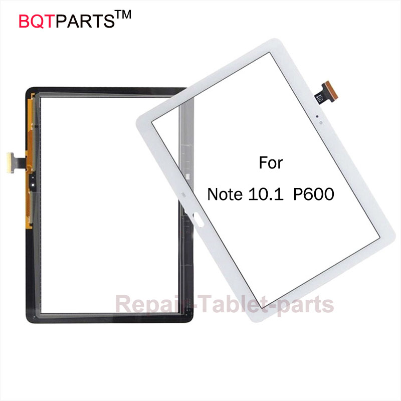 BQT Replacement screen For Samsung galaxy Note 10.1 2014 Edition P600 P605 touch screen digitizer black/white