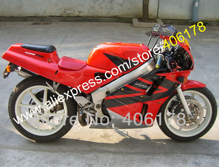 Горячие продаж,bodykits для Хонда VFR400R NC30 ВФР 400 НЦ р 30 В4 1988 1989 1990 1991 1992 Обтекателя Kit Кузов Bodyfairing