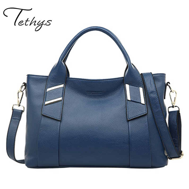 2017Famous brand women bag  luxury handbag ladies bags large capacity shoulder bag genuine cow Leather messenger bags female sac