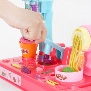 Image 5 - DIY искусственный пластилин, машина для мороженого, форма, игровой набор, игрушка «сделай сам», изготовитель лапши ручной работы, кухонная игрушка, подарок для детей