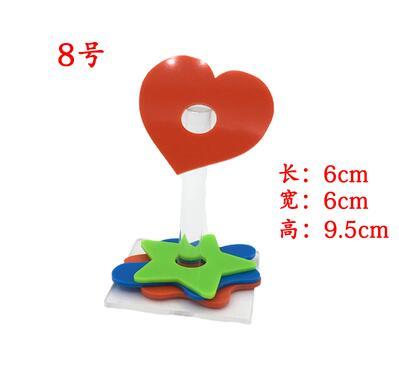 Игрушечное кольцо для птиц, обучающая интерактивная игрушка, принадлежности для головоломки, обучающее оборудование, реквизит, набор игрушек с попугаем - Цвет: 9