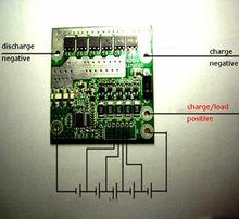 5S 45A CELLS li ion LiFePo4 BMS battery protection board W Balance 18.5V 21V F/ lithium 18650 li battery Electric drill