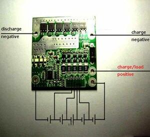 Image 1 - 5S 45A תאי ליתיום LiFePo4 BMS סוללה הגנת לוח W איזון 18.5 V 21 V F/ליתיום 18650 li סוללה חשמלי תרגיל