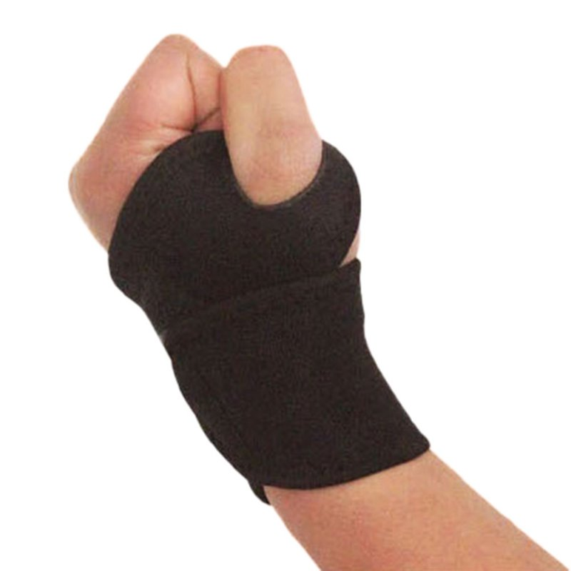 1 PC Breathable Wrist Support Strap Outdoor Sports Carpal Brace Arthritis Sprain Protector Wristband