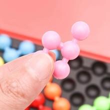 Логические игрушки Пирамида бусины головоломка классическая головоломка Пирамида логическая Ум Игра пластина IQ жемчуг для детей