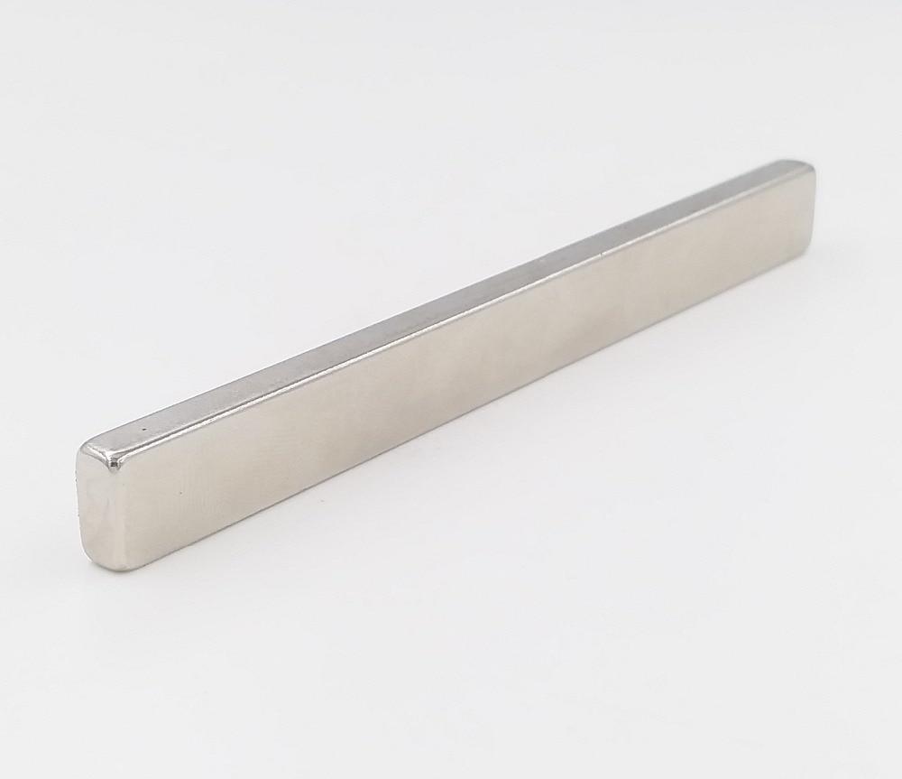 24pcs N52 NdFeB Block 100x10x5 mm Long Bar Strong Neodymium Permanent Magnets Rare Earth Industry Magnet
