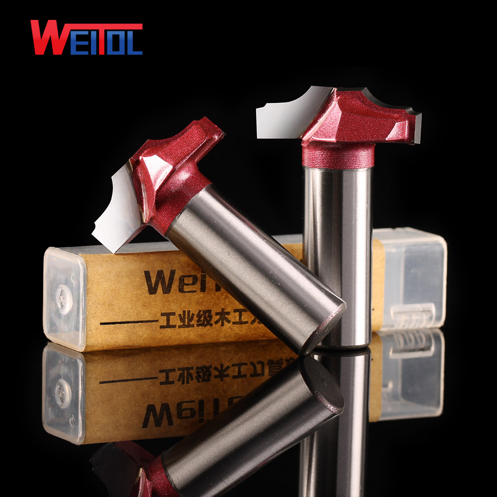 Weitol free shipping 1pcs 1/2*30mm tungsten steel milling cutter Classical plunge router bits classical pattern bits