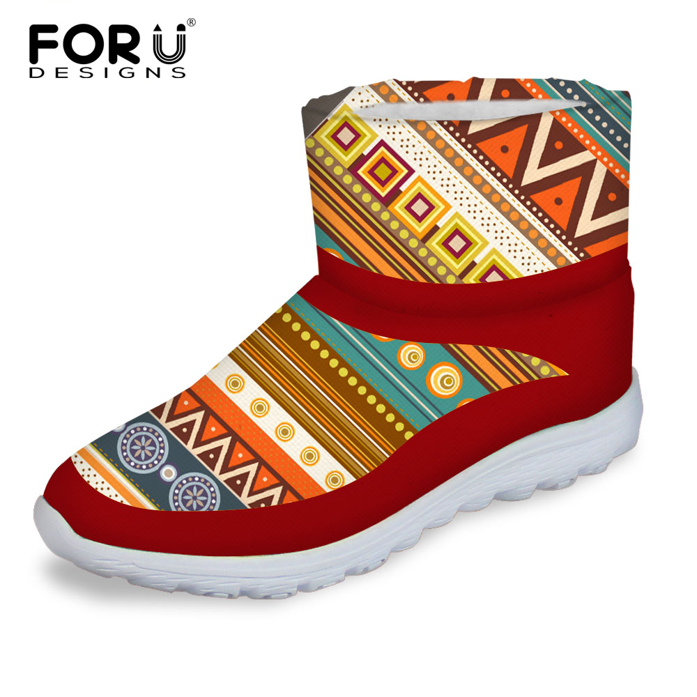 FORUDESIGNS 2017 Fashion Women Boots Female Autumn Winter Women's Snow Boots Fur Warm Short Ankle Boots Casual High Top Shoes new autumn winter warm women shoes snow boots square high heels artificial leather top casual female elastic band ankle shoes