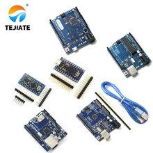 Pro Mini 328 ATMEGA328 UNO R3 CH340G+MEGA328P ATmega16U2 Chip 16Mhz For Arduino UNO R3 Development board + USB CABLE ATmega32u4