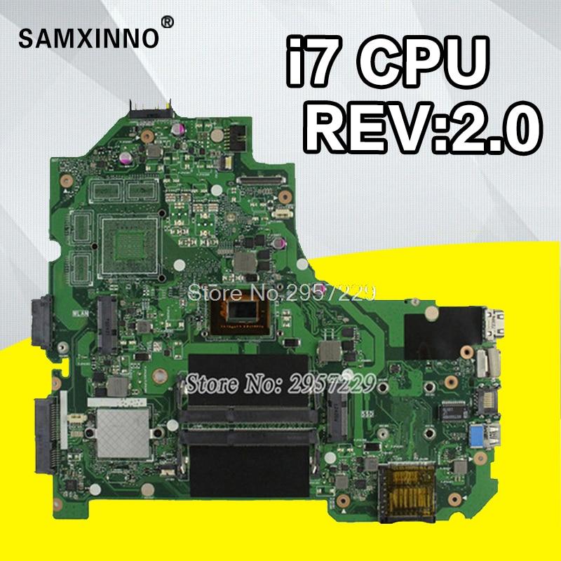 K56CA Motherboard i7-REV2.0 RAM For ASUS K56CB K56CM A56C S550CM S56C S550C laptop Motherboard K56CM Mainboard K56CM Moth 100%OK quying 15 6 inch lcd matrix for asus x502ca x550c s550c a56c s56c k550d x550v y581c notebook laptop replacement screen page 9