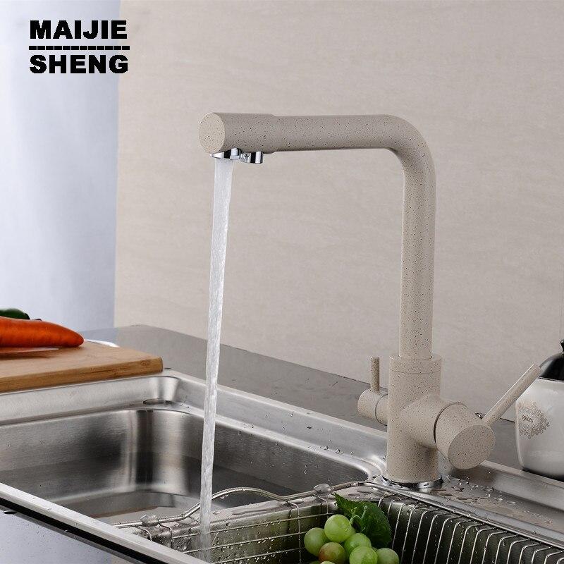 kitchen faucet 3 way double function filler Kitchen Faucet Dual function 3 way water filter kitchen