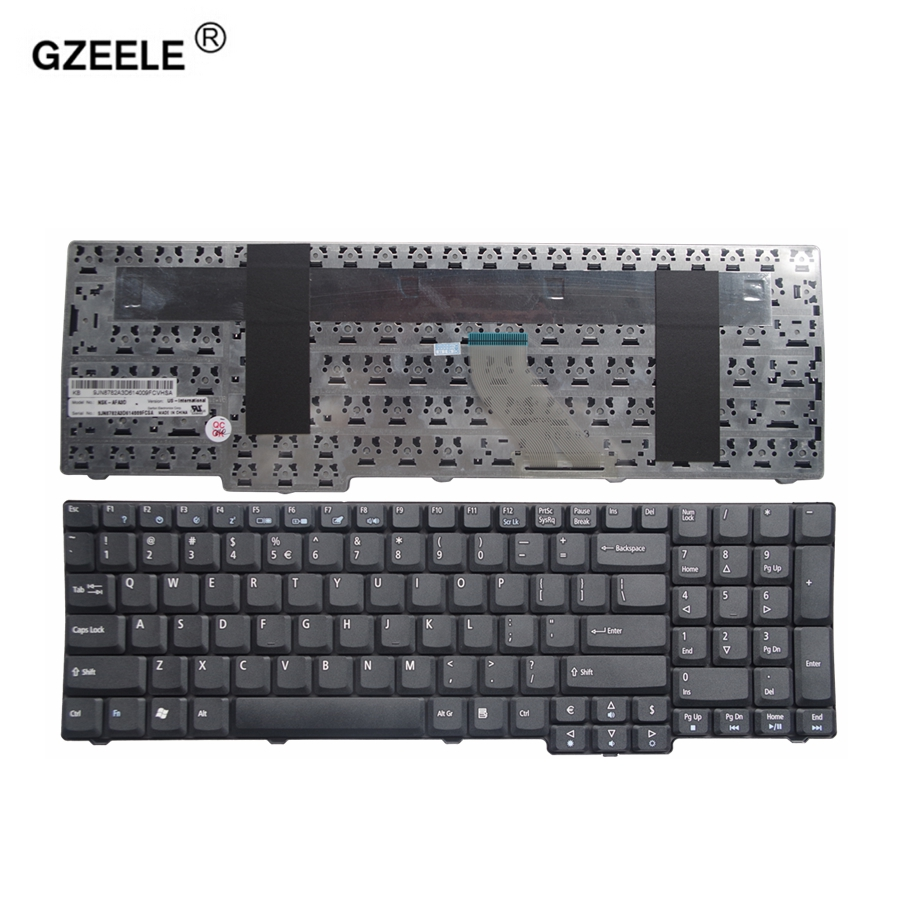 GZEELE US New Keyboard FOR ACER 7630 6930 9410 5737 7100 8930 5235 5635 ZR6 9400 7000 7110 9300 7720G 7720Z 7710 6530G English