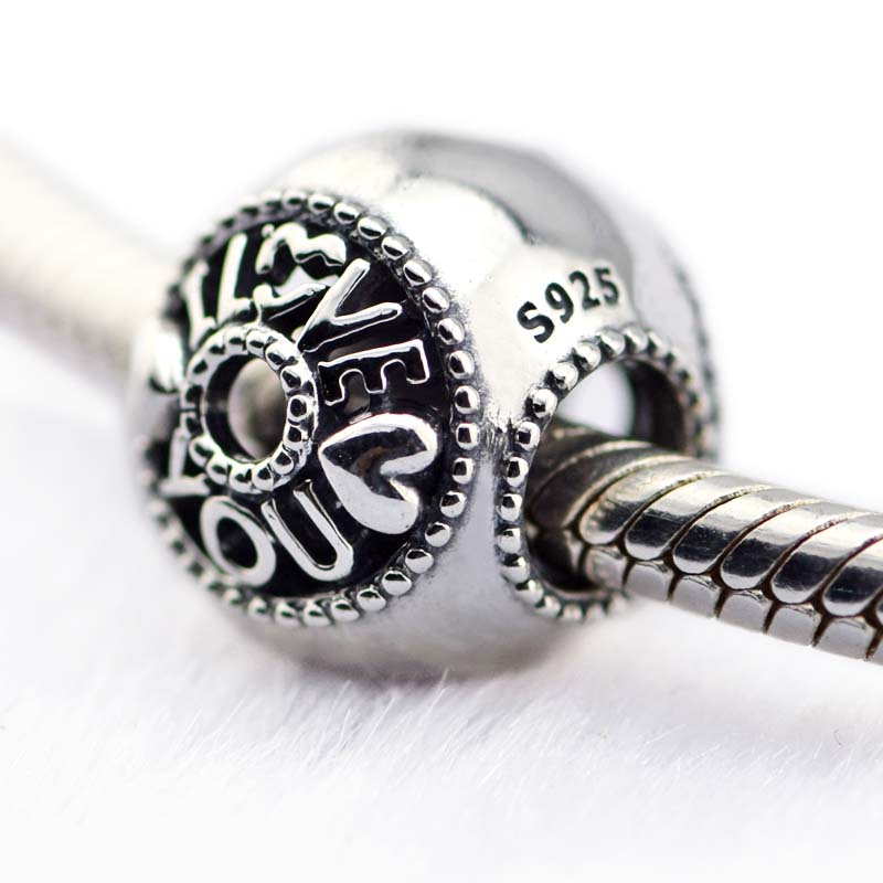 Pandora Jewelry Free Shipping: Fits For Pandora Charms Bracelets 100% 925 Sterling Silver