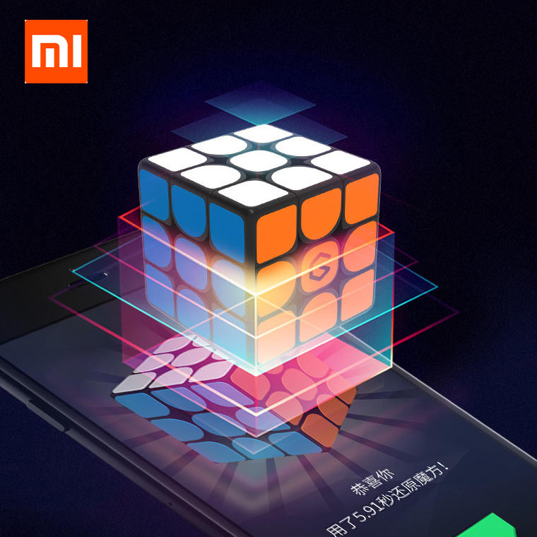 [Newest Version ] Xiaomi Giiker i3s AI Intelligent Super Cube Smart Magic Magnetic Bluetooth APP Sync Puzzle Toys For Children